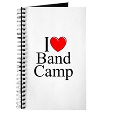 """I Love (Heart) Band Camp"" Journal"
