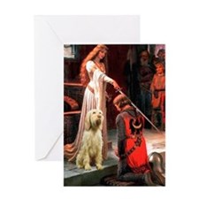 Accolade/Italian Spinone Greeting Card