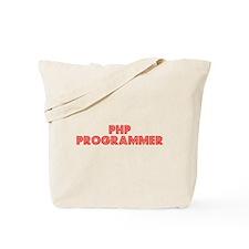 Retro PHP Program.. (Red) Tote Bag