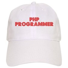 Retro PHP Program.. (Red) Baseball Cap