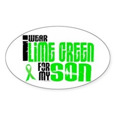 I Wear Lime Green For My Son 6 Decal