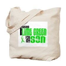 I Wear Lime Green For My Son 6 Tote Bag