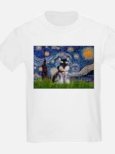 Starry / Schnauzer T-Shirt