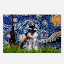 Starry / Schnauzer Postcards (Package of 8)