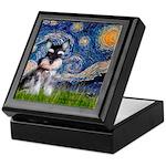 Starry / Schnauzer Keepsake Box