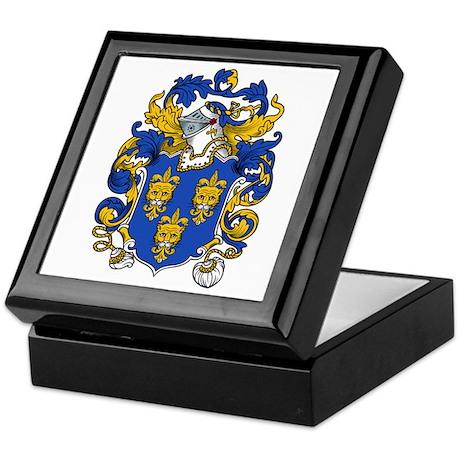 Dennis Family Crest Keepsake Box