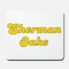 Retro Sherman Oaks (Gold) Mousepad