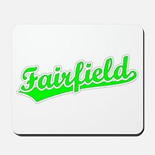 Retro Fairfield (Green) Mousepad