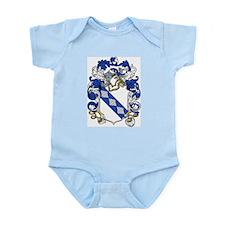 Dent Family Crest Infant Creeper