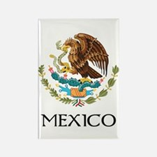 Mexico Coat of Arms Rectangle Magnet