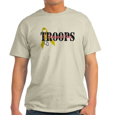 I Support Our Troops Light T-Shirt