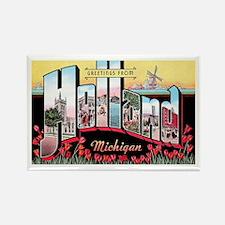 Holland Michigan Greetings Rectangle Magnet