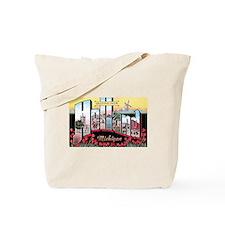 Holland Michigan Greetings Tote Bag
