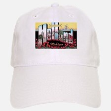 Holland Michigan Greetings Baseball Baseball Cap