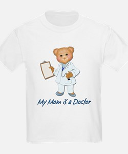 Doctor Mom Kids T-Shirt