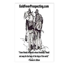 Gold Fever Prospecting Postcards (Package of 8)