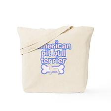 Powderpuff Pit Bull Tote Bag