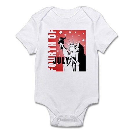 Fourth of July Infant Bodysuit