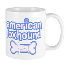 Powderpuff American Foxhound Mug