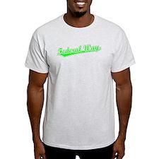 Retro Federal Way (Green) T-Shirt