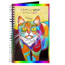 Rainbow Cat Journal