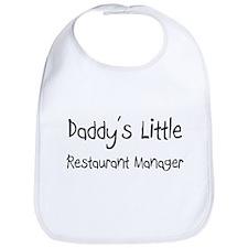 Daddy's Little Restaurant Manager Bib