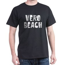 Vero Beach Faded (Silver) T-Shirt