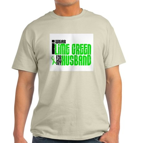 I Wear Lime Green For My Husband 6 Light T-Shirt