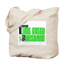I Wear Lime Green For My Husband 6 Tote Bag
