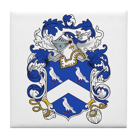 Duke Family Crest Tile Coaster
