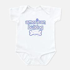 Powderpuff American Bulldog Infant Bodysuit