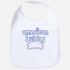 Powderpuff American Bulldog Bib