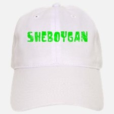 Sheboygan Faded (Green) Baseball Baseball Cap