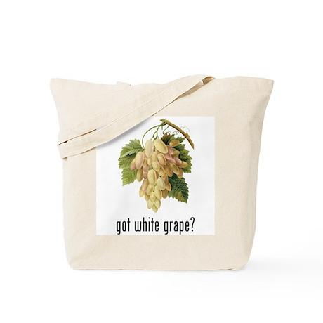 White Grape Tote Bag