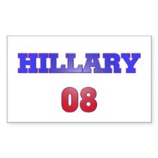 Hillary Rectangle Decal