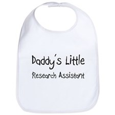Daddy's Little Research Assistant Bib