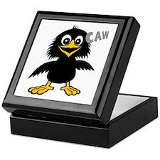 Funny Crow Keepsake Box