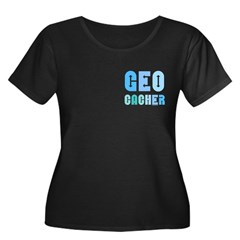 Geocacher Arrows Blue T