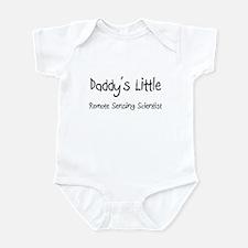 Daddy's Little Remote Sensing Scientist Infant Bod