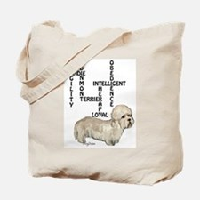 dandie dinmont crossword Tote Bag