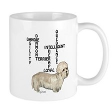 dandie dinmont crossword Small Mug