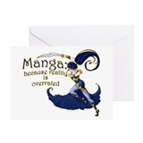 Manga Greeting Cards