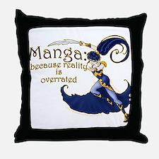 Fun Manga Fan Design Throw Pillow