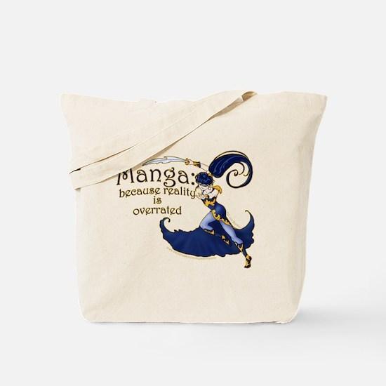 Fun Manga Fan Design Tote Bag
