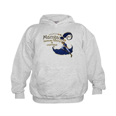 Fun Manga Fan Design Kids Hoodie
