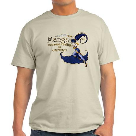 Fun Manga Fan Design Light T-Shirt