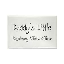 Daddy's Little Regulatory Affairs Officer Rectangl