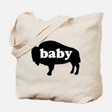 Buffalo baby Tote Bag