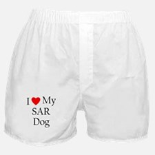 I Love My SAR Dog Boxer Shorts