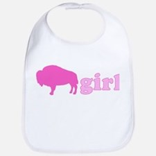Buffalo Girl Bib